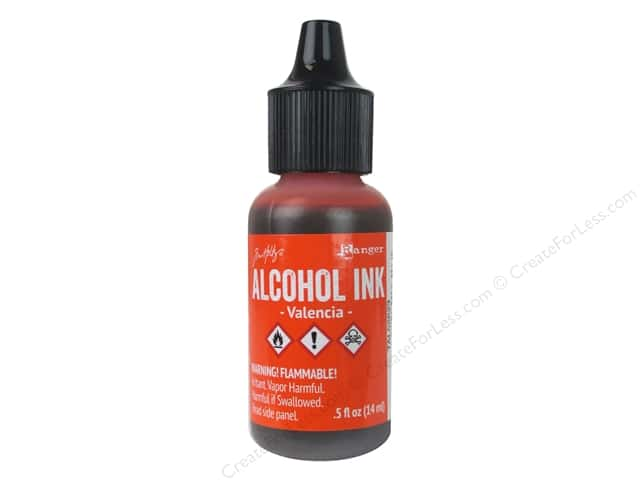Tim Holtz Alcohol Ink by Ranger .5 oz. Valencia