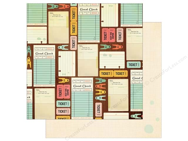 Simple Stories 12 x 12 in. Paper The Reset Girl Get Your Crafty On (25 sheets)