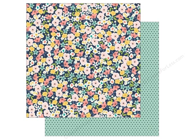 Simple Stories 12 x 12 in. Paper Posh Love Life (25 sheets)