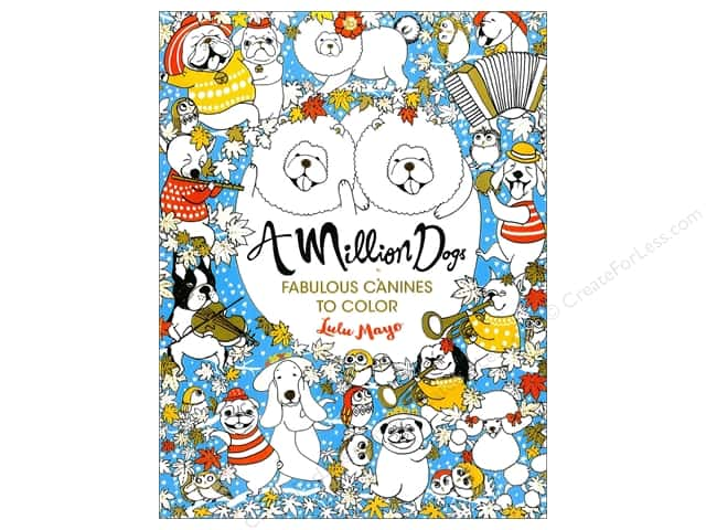 Lark A Million Dogs Fabulous Canines Coloring Book