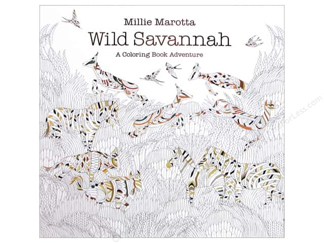 Millie Marotta's Wild Savannah Coloring Book