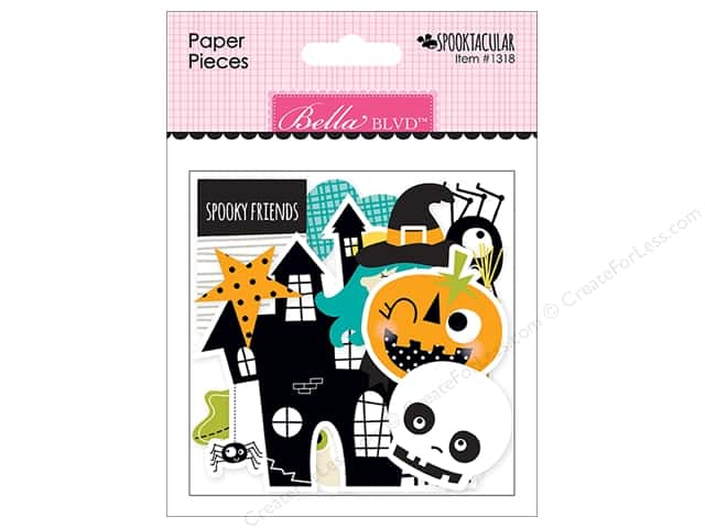 Bella Blvd Paper Pieces Spooktacular