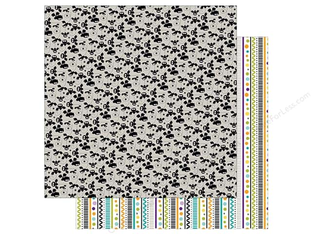Bella Blvd 12 x 12 in. Paper Spooktacular Batty (25 sheets)