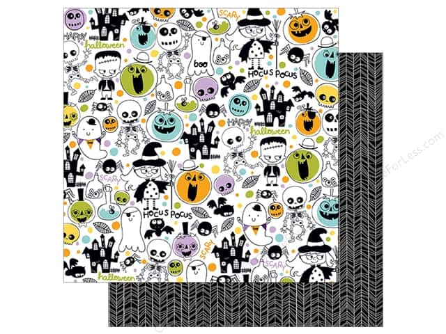 Bella Blvd 12 x 12 in. Paper Spooktacular Toil & Trouble (25 sheets)