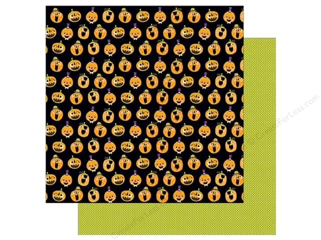 Bella Blvd 12 x 12 in. Paper Spooktacular Pumpkin Day (25 sheets)