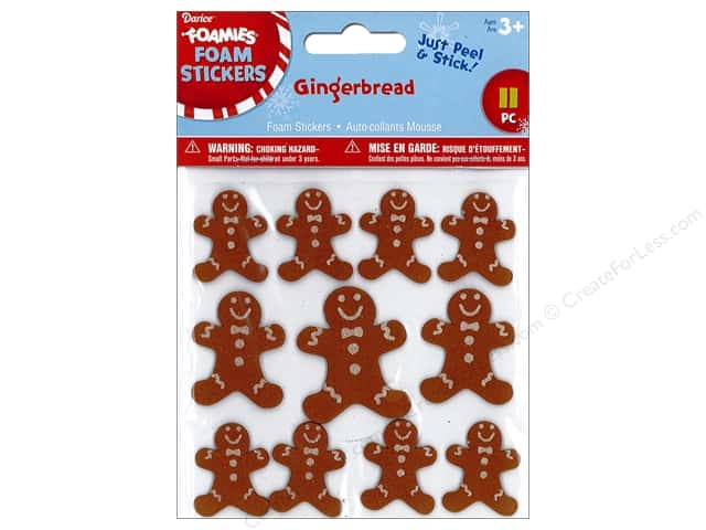 Darice Foamies Sticker Gingerbread
