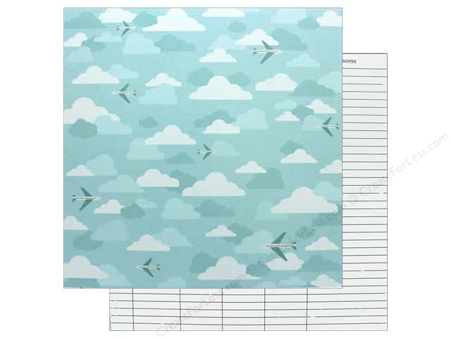 American Crafts 12 x 12 in. Paper Schmille Go Now Go Fly (25 sheets)