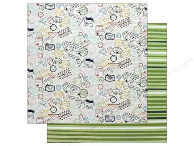 American Crafts 12 x 12 in. Paper Schmille Go Now Go Journey (25 sheets)