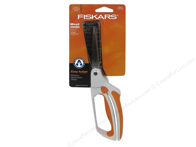 Fiskars No. 8 Premier Easy Action Bent Scissors