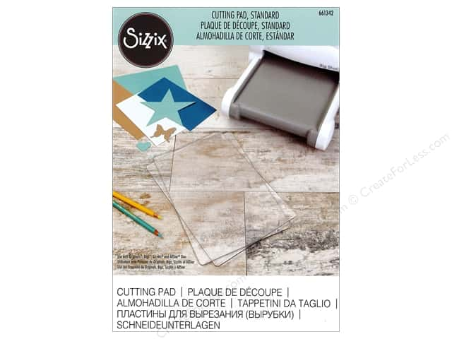 Sizzix Cutting Pad Standard 1 pc. Clear