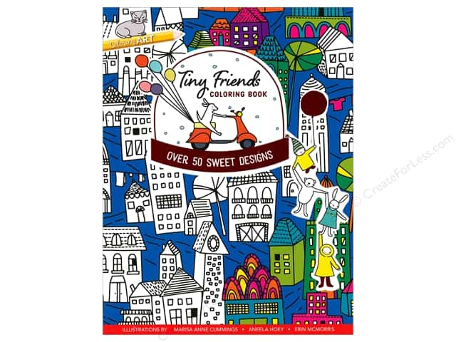 C&T Publishing Tiny Friends Coloring Book