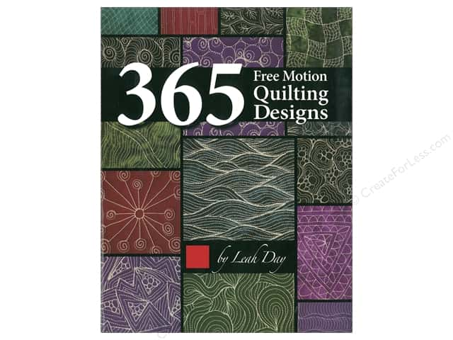 365 Free Motion Quilting Designs Book by Leah Day