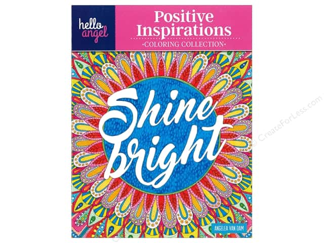 Design Originals Positive Inspirations Coloring Book