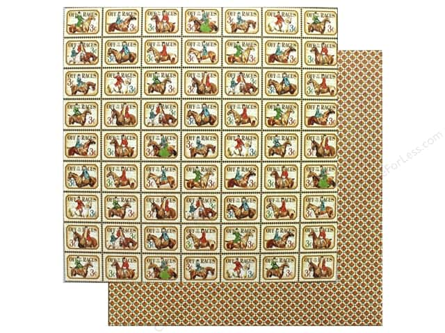 Graphic 45 12 x 12 in. Paper Off To The Races Kentucky Derby (25 sheets)