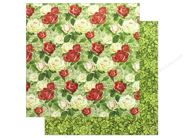 Graphic 45 12 x 12 in. Paper Off To The Races Run For The Roses (25 sheets)