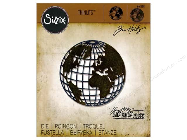 Sizzix Thinlits Die 1 pc. Mini Globe