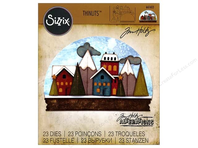 Sizzix Thinlits Die Set 23 pc. Snowglobe