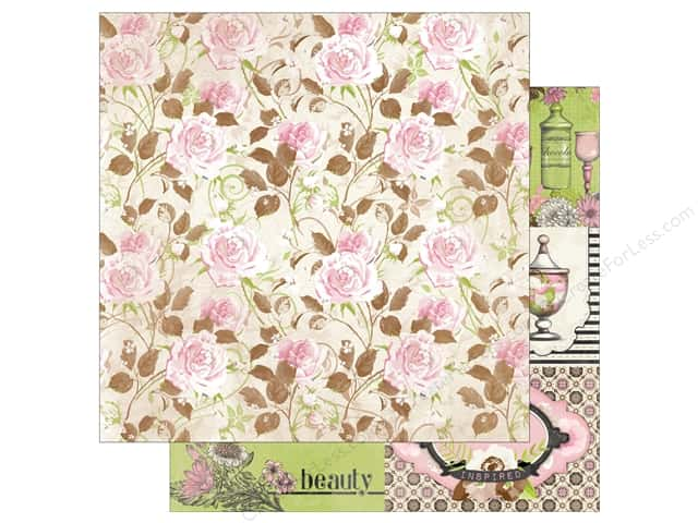 Bo Bunny 12 x 12 in. Paper Sweet Moments Allure (25 sheets)