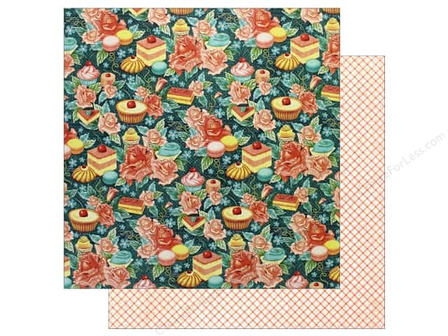 Graphic 45 12 x 12 in. Paper Cafe Parisian Confectionery (25 sheets)