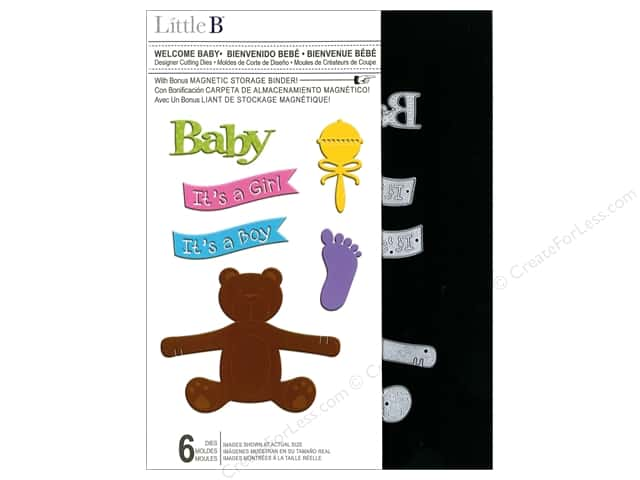 Little B Cutting Dies Designer Welcome Baby