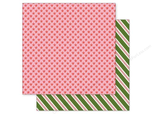 Pebbles 12 x 12 in. Paper Holly Jolly Peppermints (25 sheets)