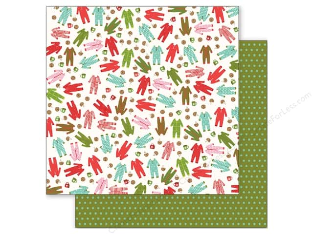 Pebbles 12 x 12 in. Paper Holly Jolly Pajama Party (25 sheets)