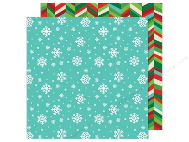 American Crafts 12 x 12 in. Paper All Wrapped Up Snowflakes (25 sheets)