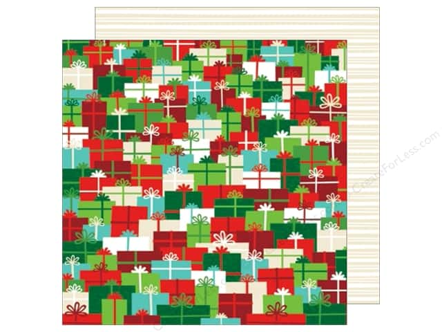 American Crafts 12 x 12 in. Paper All Wrapped Up Holiday Surprises (25 sheets)