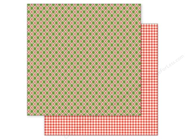 Pebbles 12 x 12 in. Paper Holly Jolly Christmas Plaid (25 sheets)