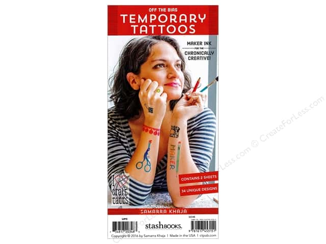 Stash By C&T Temporary Tattoos Samarra Khaja