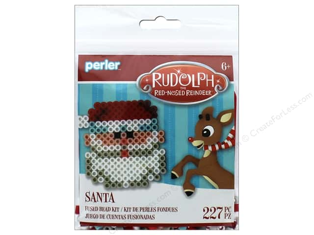 Perler Fused Bead Kit Trial Santa
