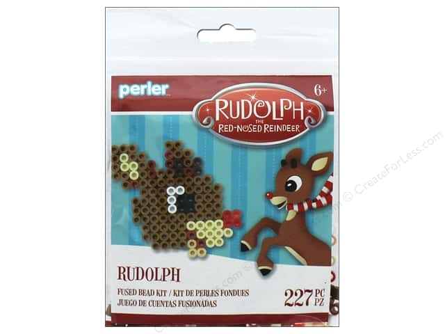 Perler Fused Bead Kit Trial Rudolph