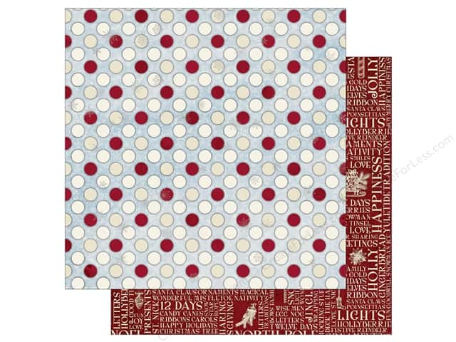 Bo Bunny 12 x 12 in. Paper Tis The Season Happiness (25 sheets)