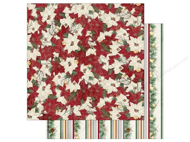 Bo Bunny 12 x 12 in. Paper Tis The Season Garland (25 sheets)