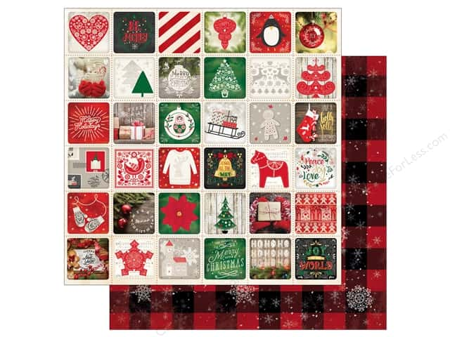 Bo Bunny 12 x 12 in. Paper Merry & Bright Holidays (25 sheets)