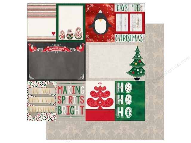 Bo Bunny 12 x 12 in. Paper Merry & Bright Special Delivery (25 sheets)