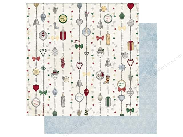 Bo Bunny 12 x 12 in. Paper Tis The Season Silver Bells (25 sheets)