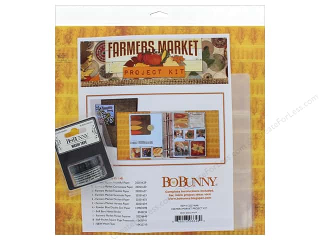Bo Bunny Project Kit Farmers Market Binder
