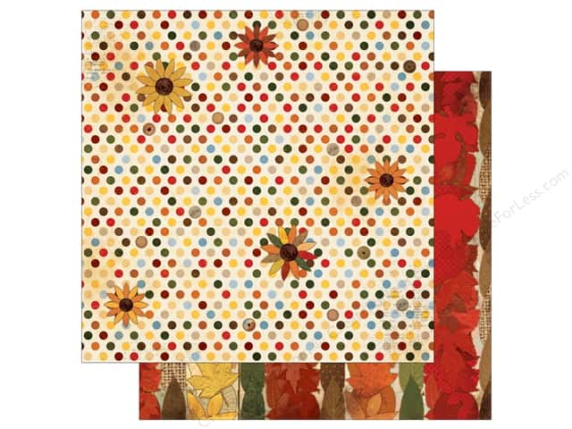 Bo Bunny 12 x 12 in. Paper Farmers Market Sunflower (25 sheets)
