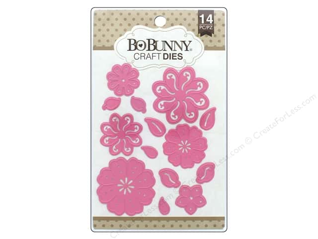 Bo Bunny Craft Dies 14 pc. Perfect Petals