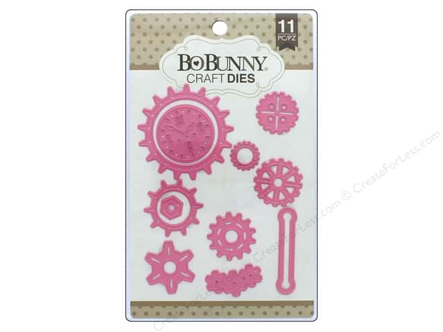 Bo Bunny Craft Dies 11 pc. Gearing Up