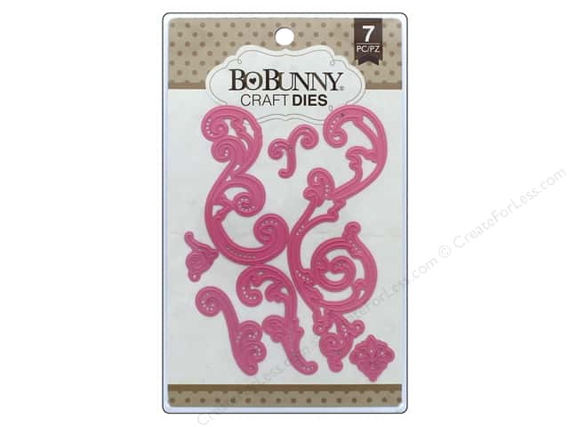 Bo Bunny Craft Dies 7 pc. Fanciful