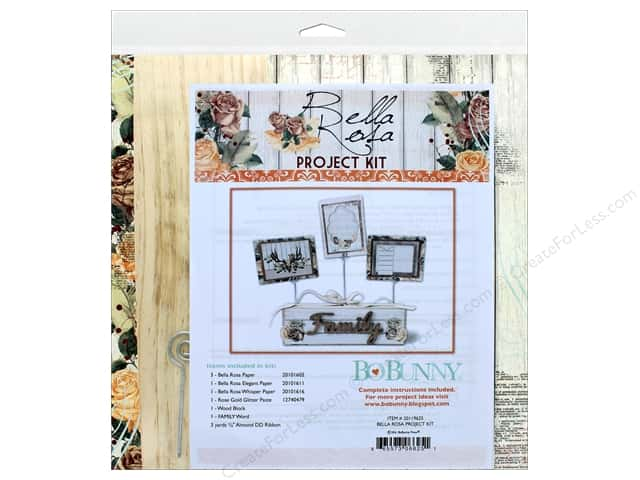 Bo Bunny Project Kit Bella Rosa