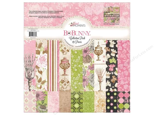 Bo Bunny 12 x 12 in. Collection Pack Sweet Moments