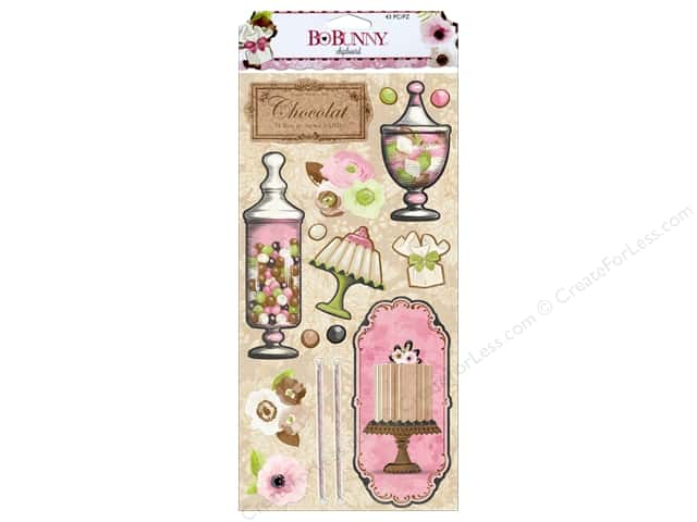 Bo Bunny Chipboard Sweet Moments