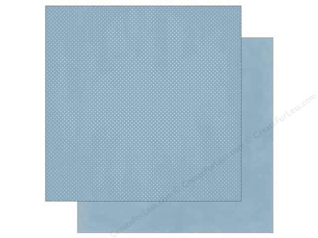 Bo Bunny 12 x 12 in. Paper Double Dot Country Blue