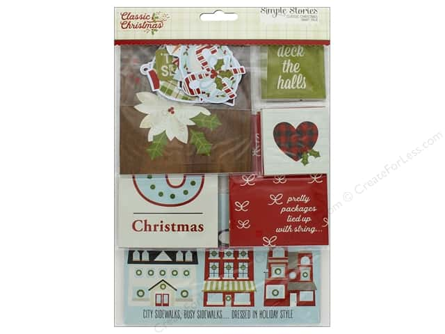 Simple Stories Collection Classic Christmas Snap Pack
