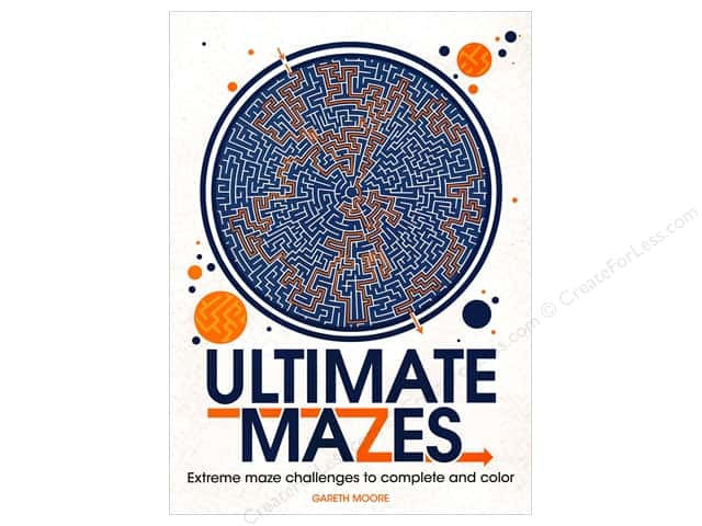 Barron's Ultimate Mazes Coloring Book
