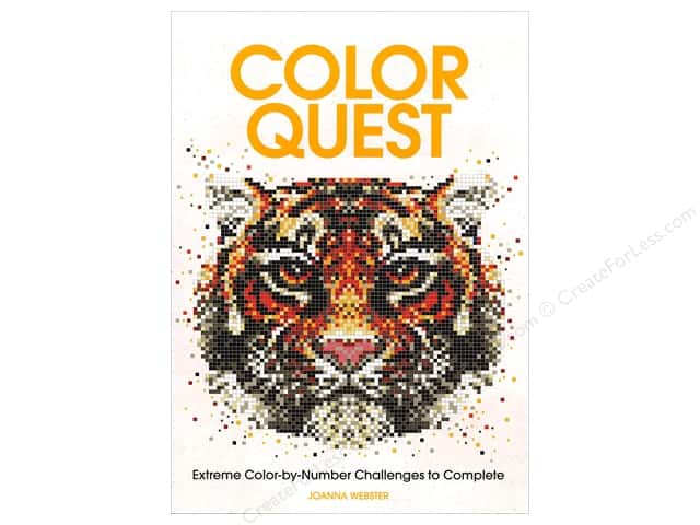 Barron's Color Quest Coloring Book