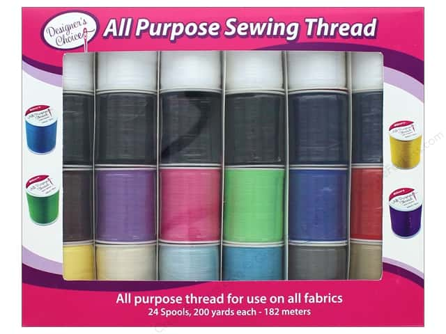 Allary All Purpose Sewing Thread Set 24 pc.